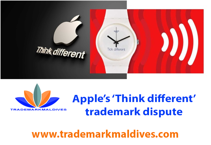 Apple's 'Think different' trademark dispute