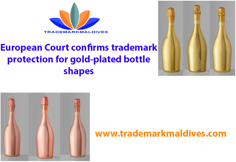 European Court confirms trademark protection for gold-plated bottle shapes