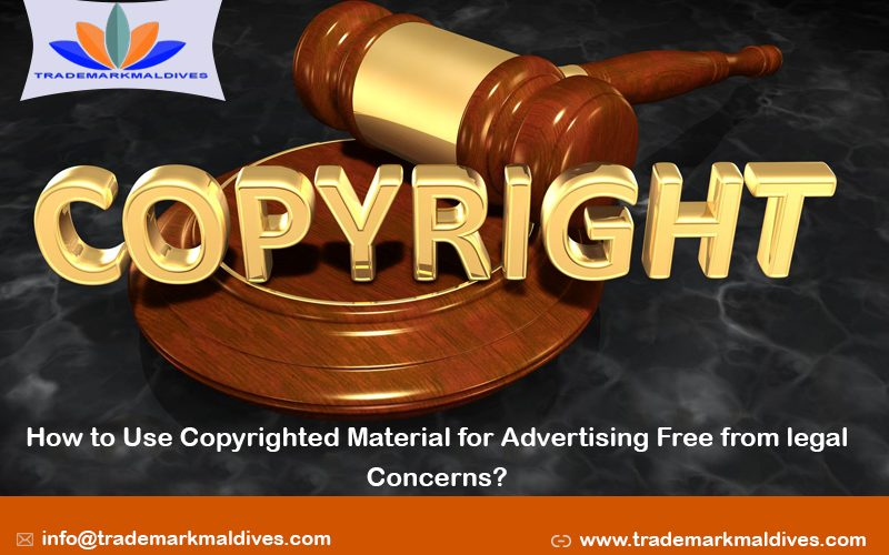 How to Use Copyrighted Material for Advertising Free from legal Concerns?