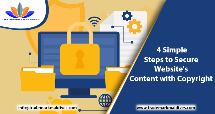 4 Simple Steps to Secure Website's Content with Copyright