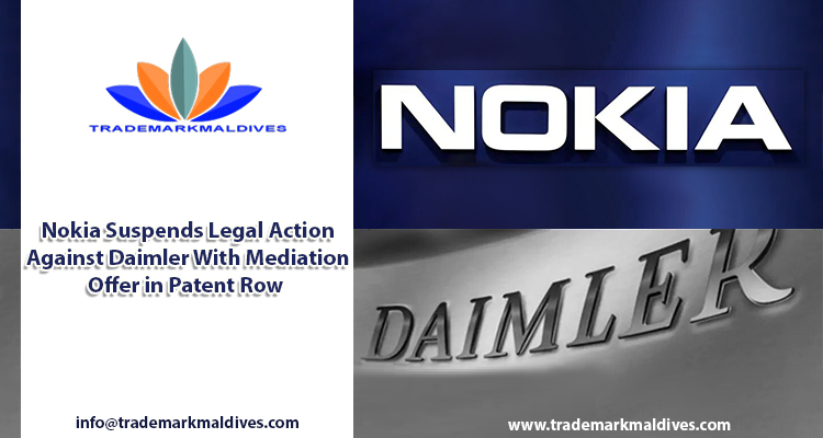 Nokia Suspends Legal Action Against Daimler With Mediation Offer in Patent Row