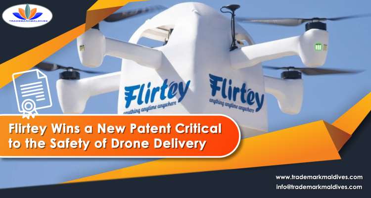 Flirtey Wins a New Patent Critical to the Safety of Drone Delivery