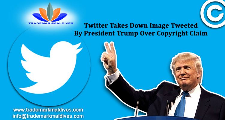 Twitter Takes Down Image Tweeted By President Trump Over Copyright Claim